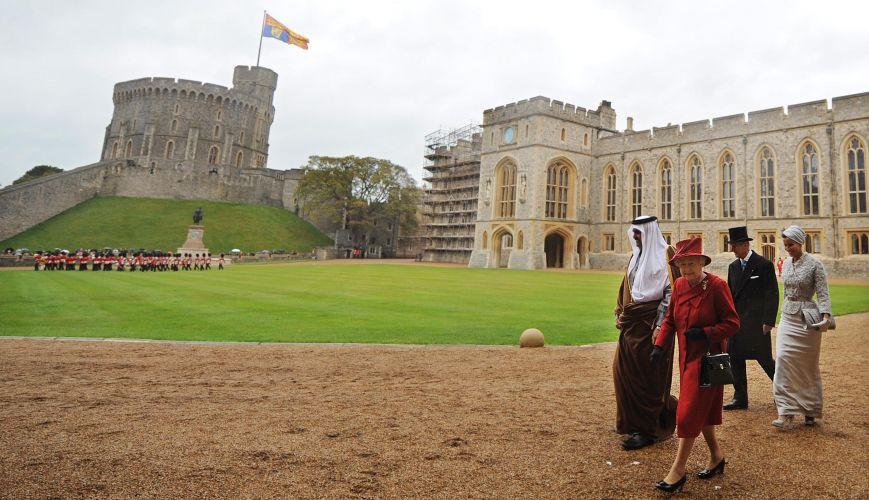 Visita à Inglaterra