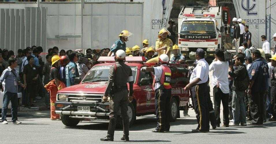 Mortes em obra na Tailândia