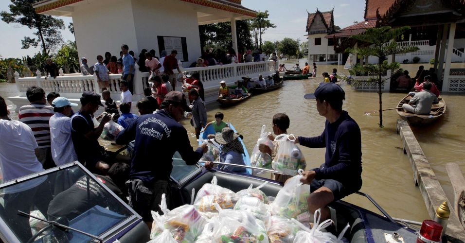 Inundação na Tailândia