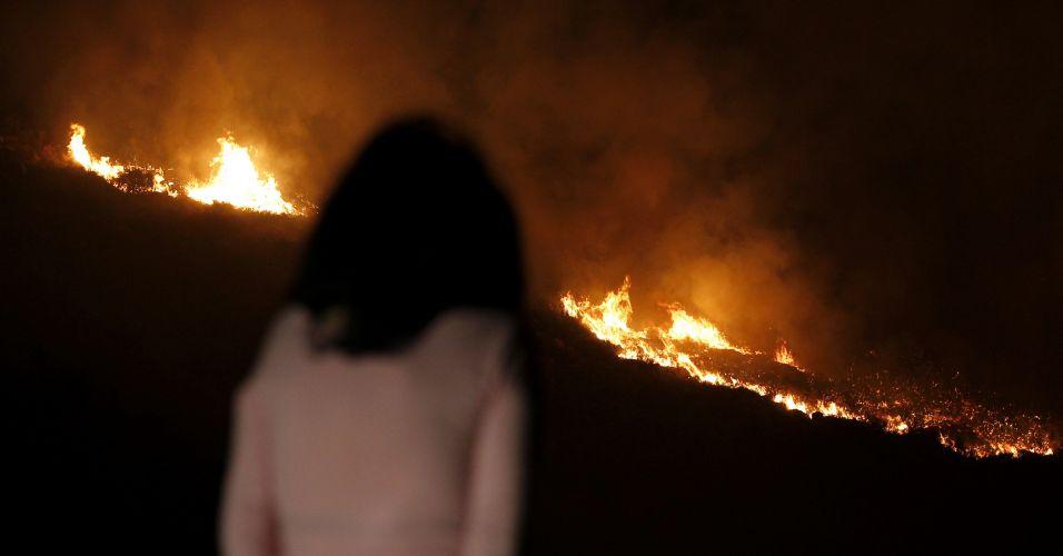 Incêndio no Líbano