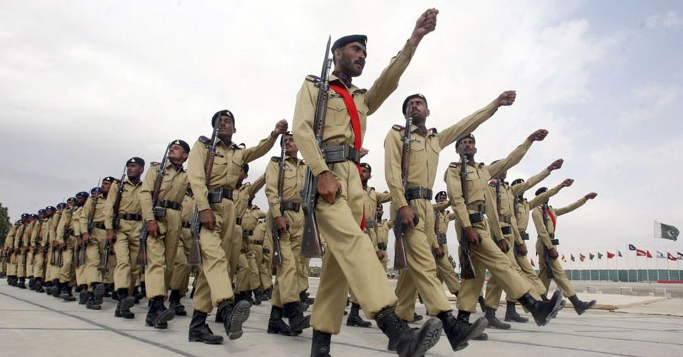 Recrutas paquistaneses
