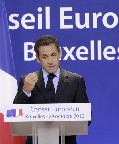 Sarkozy discursa