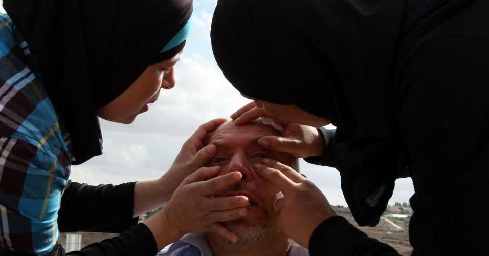 Ferido em protesto em Jerusalém