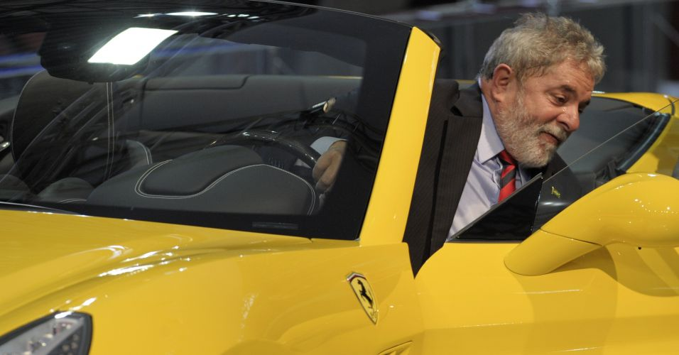 Lula no Salão do Automóvel