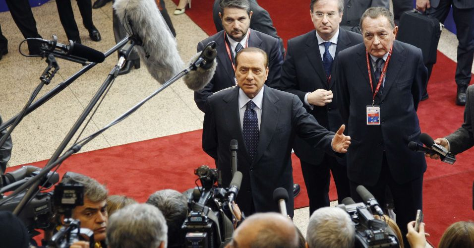 Berlusconi em Bruxelas