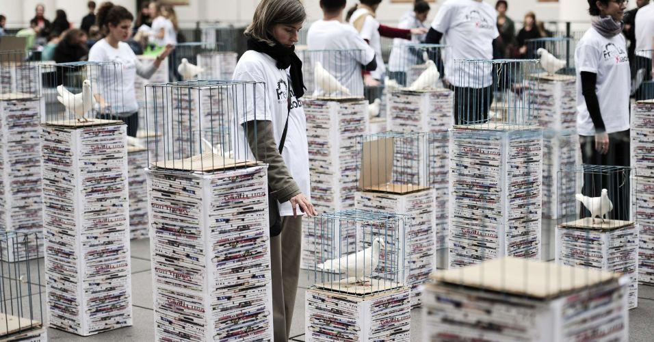 Protesto pró-Xiaobo