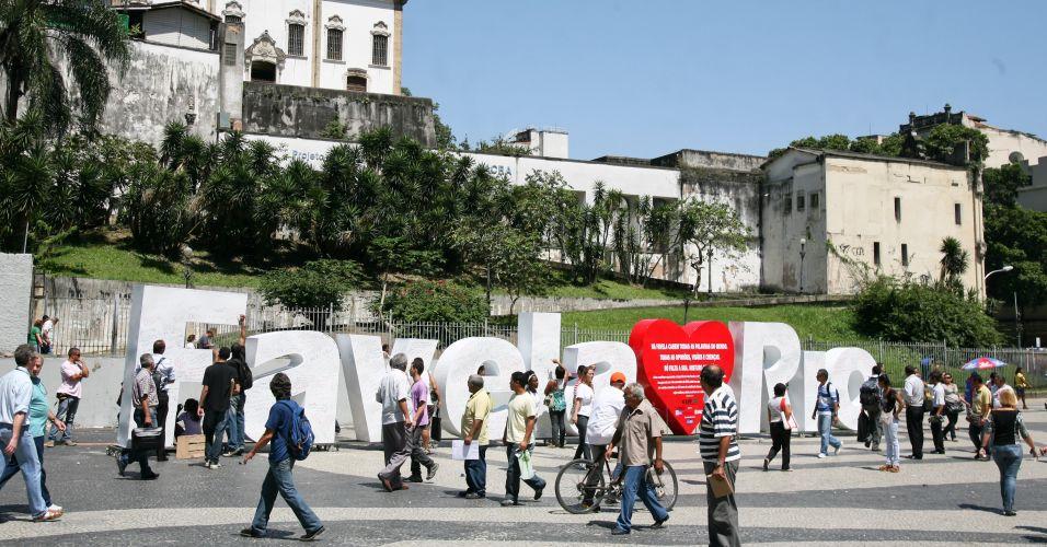 Escultura no Rio