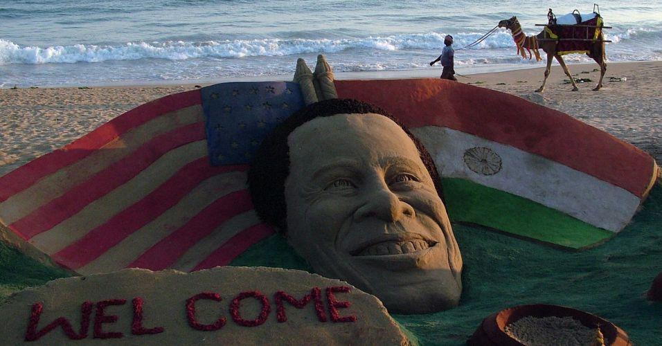 Escultura para Obama