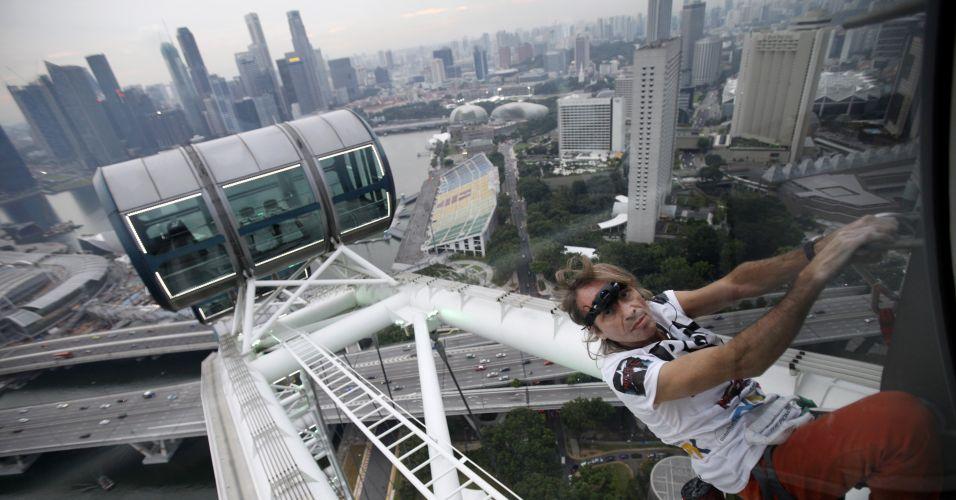 Escalada em Cingapura
