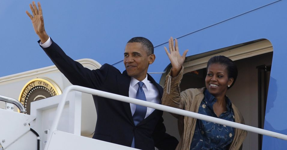 Obama rumo à Ásia