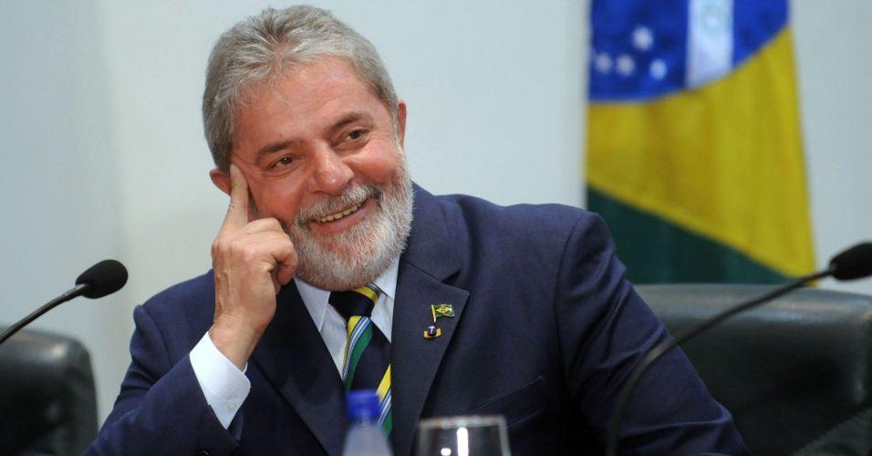 Lula em formatura