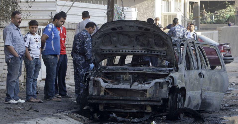 Bomba em Bagdá