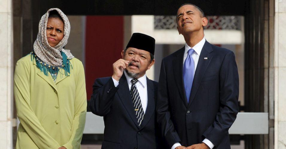 Obama na Indonésia
