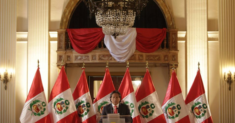 Coletiva em Lima