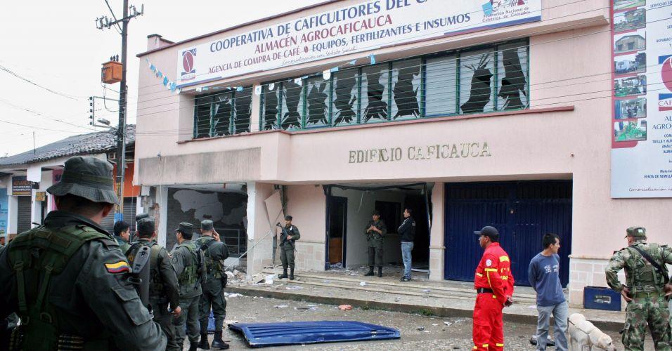 Ataque na Colômbia