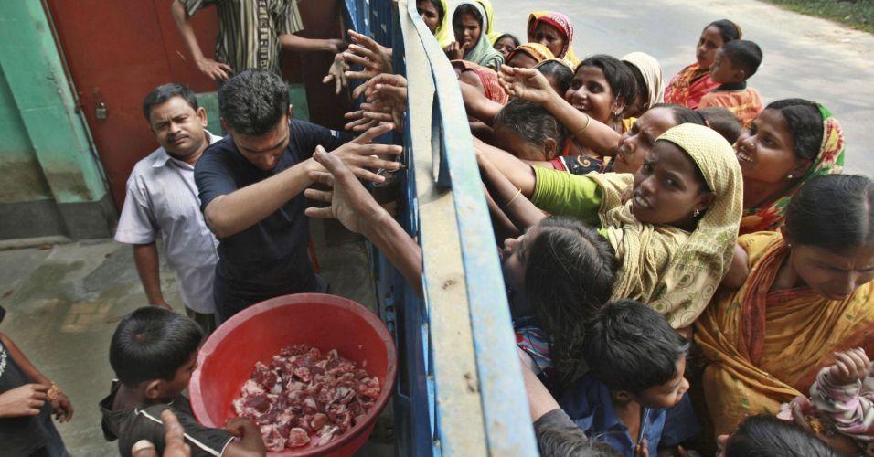 Carne grátis em Bangladesh