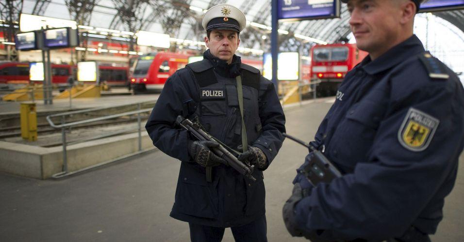 Segurança reforçada na Alemanha