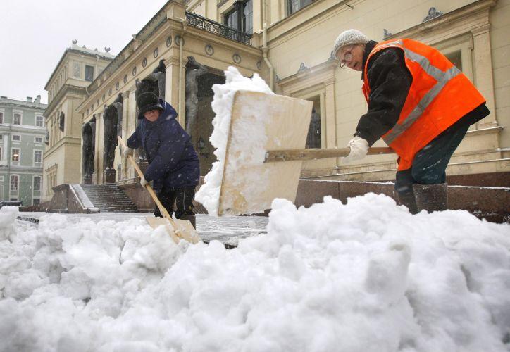 Neve em São Petesburgo