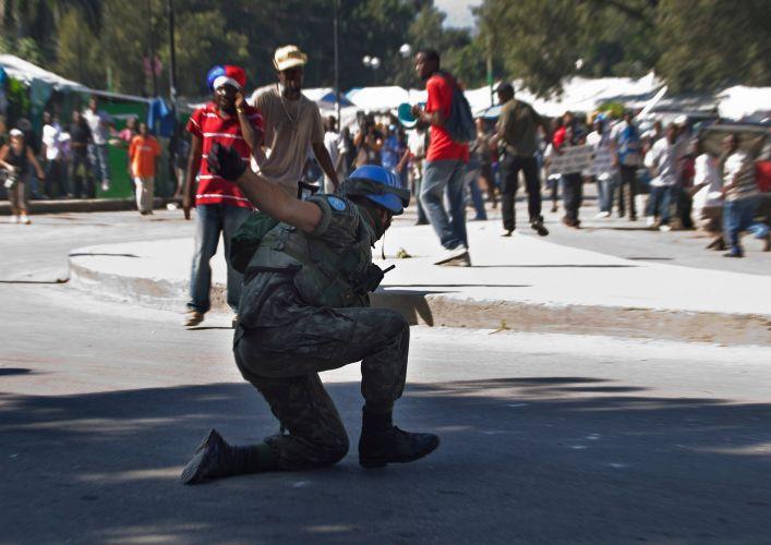 Confrontos no Hait