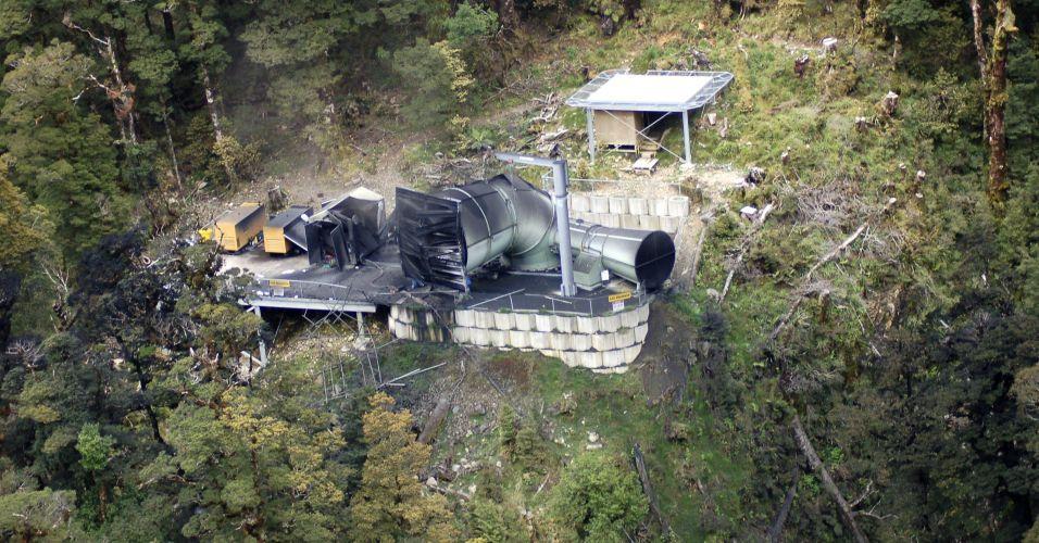 Acidente em mina na Nova Zelândia