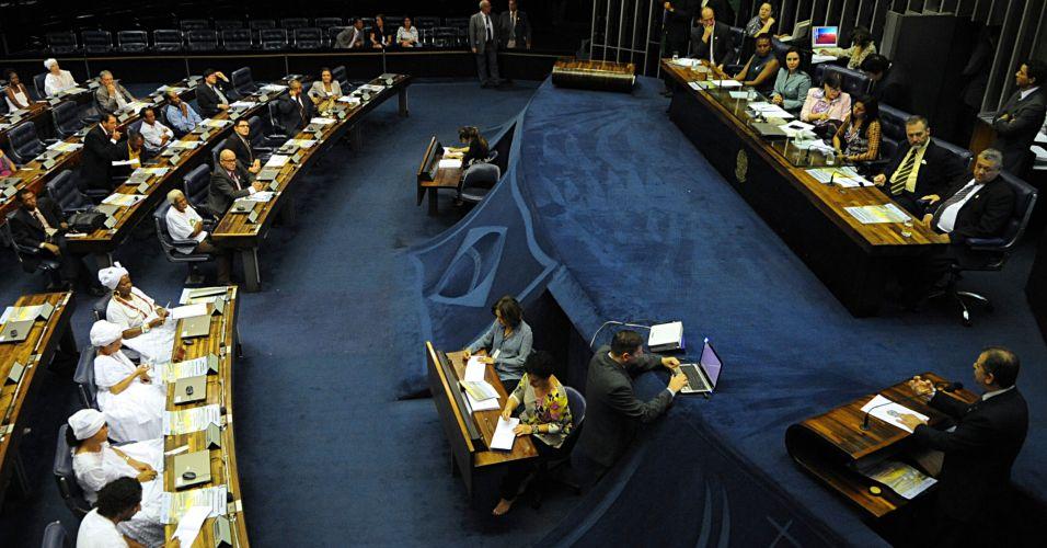 Senado em sessão
