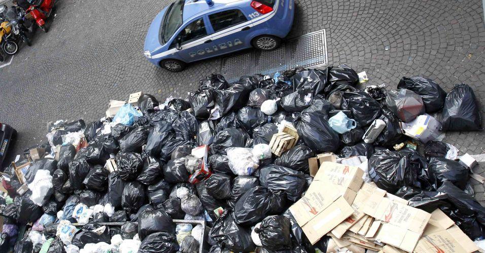 Lixo em Nápoles