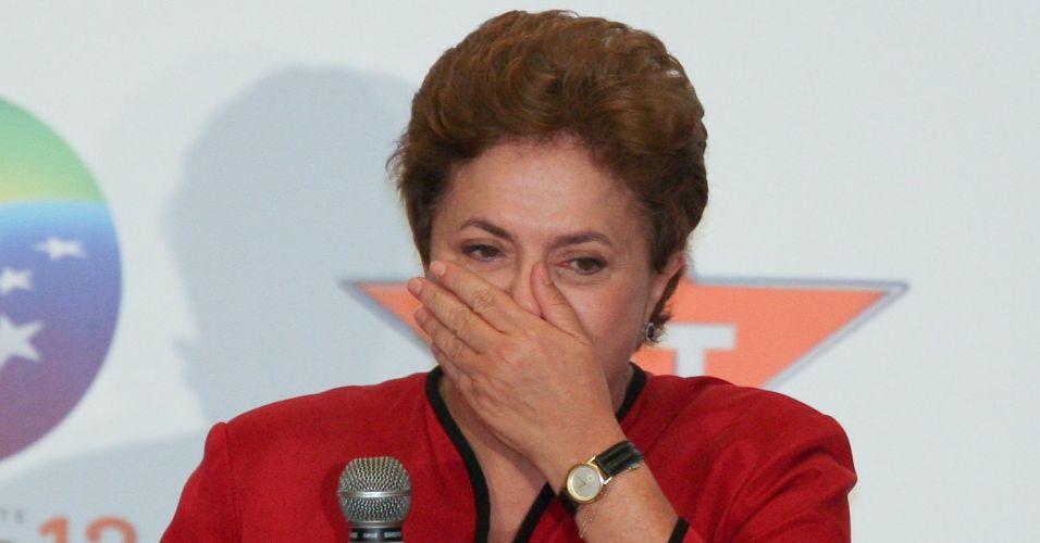 Dilma chora