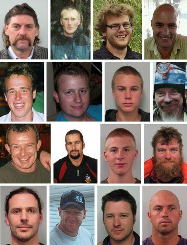 Mineiros presos na Nova Zelândia