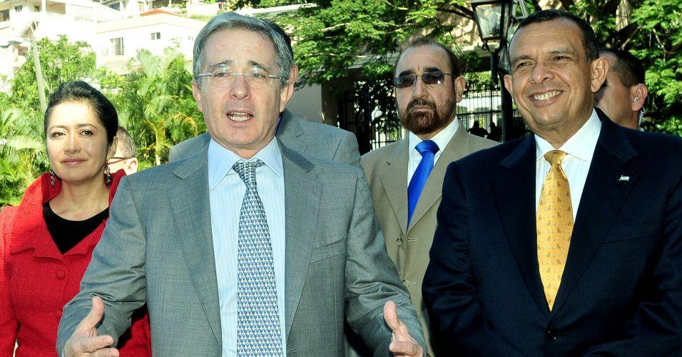 Uribe e Porfírio Lobo