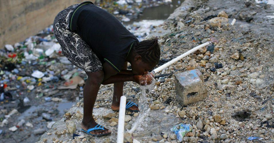 Cólera no Haiti