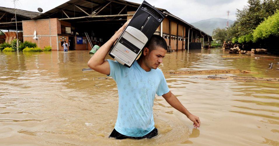 Chuva na Colômbia
