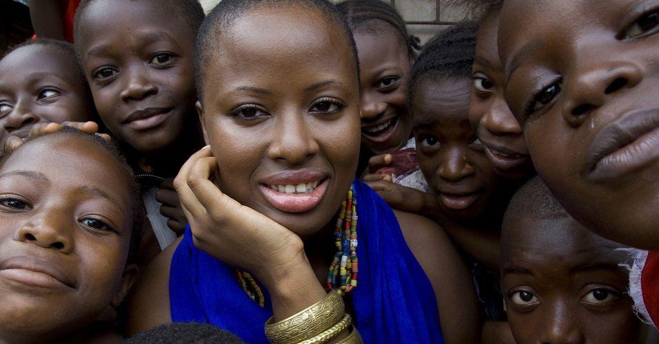 Crianças de Serra Leoa