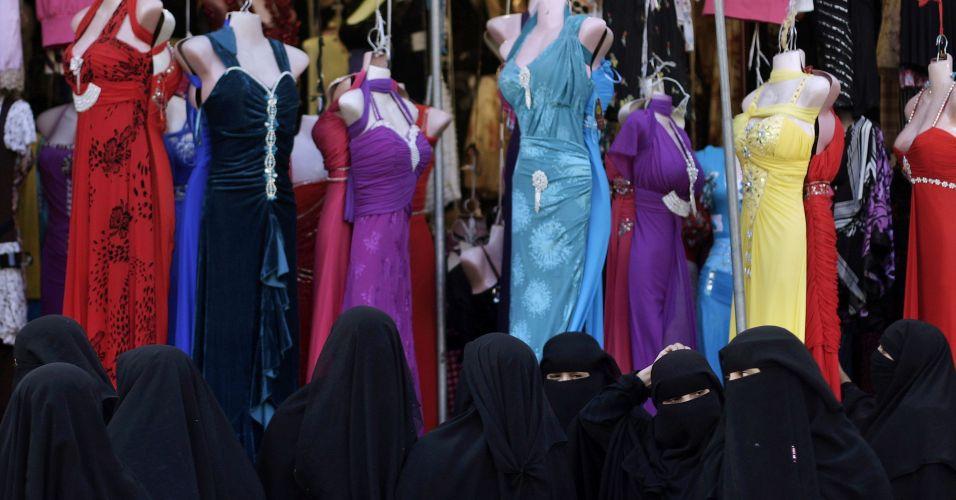 Vestidos no Iêmen