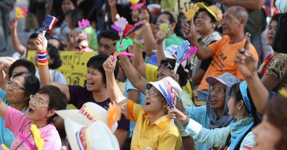 Protesto na Tailândia