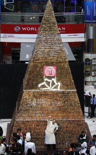 Pirâmide de chocolate