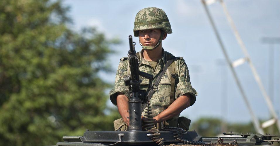 Segurança reforçada no México