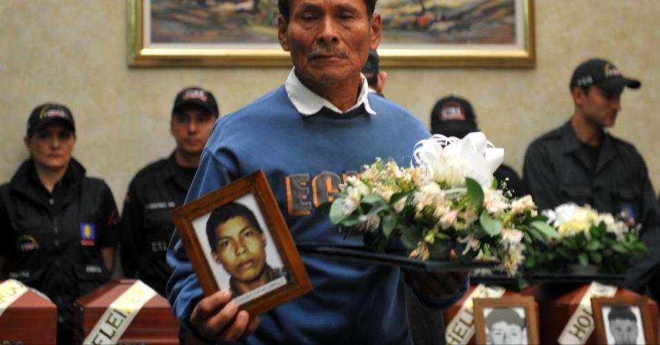Vítimas na Colômbia