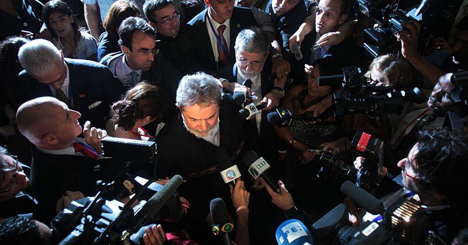 Lula fala sobre crise no Rio de Janeiro
