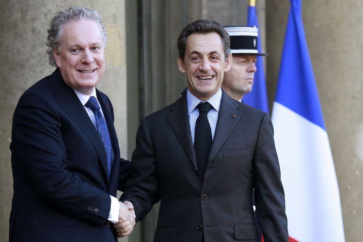 Sarkozy e ministro canadense