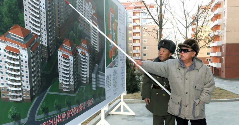 Kim Jong Il aparece