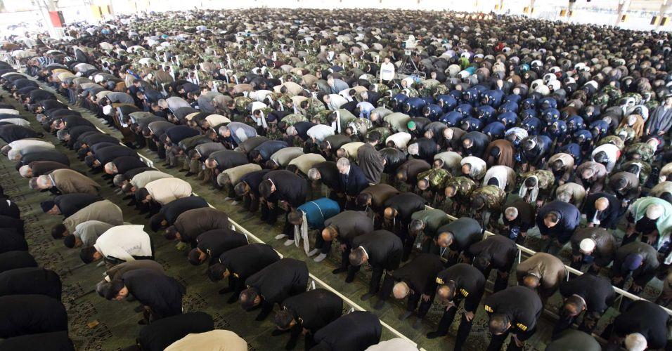 Orações no Irã