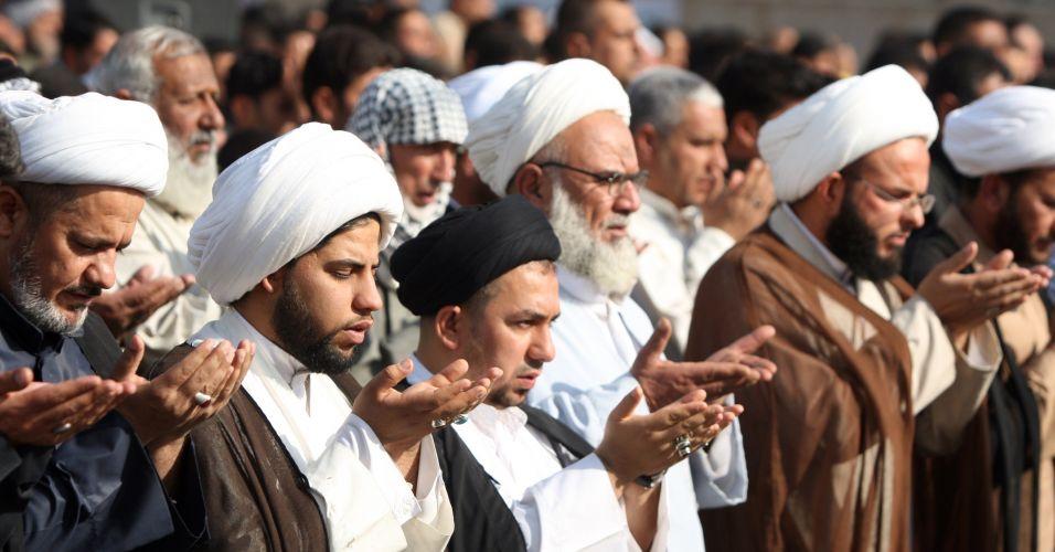 Orações no Iraque
