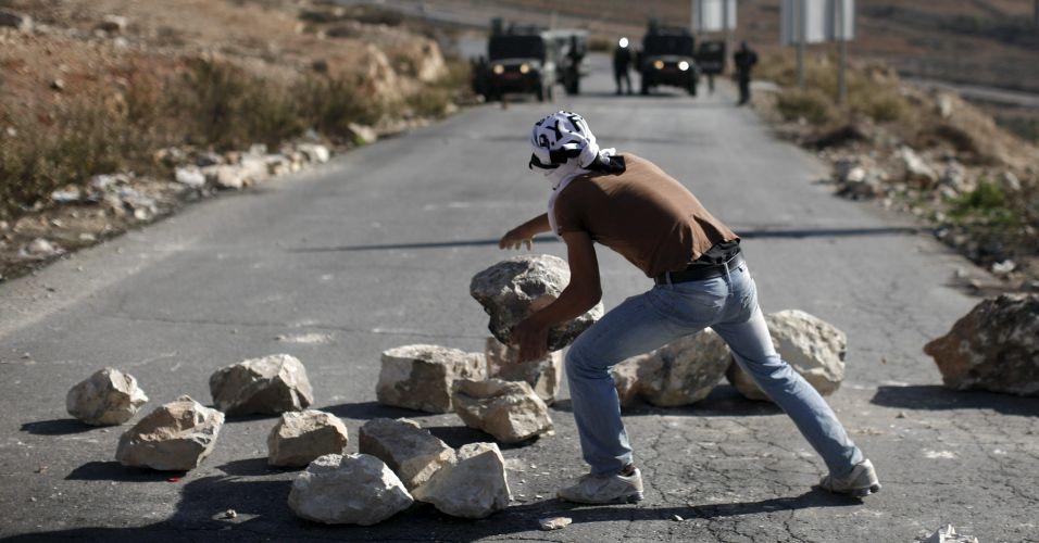 Palestinos contra assentamentos
