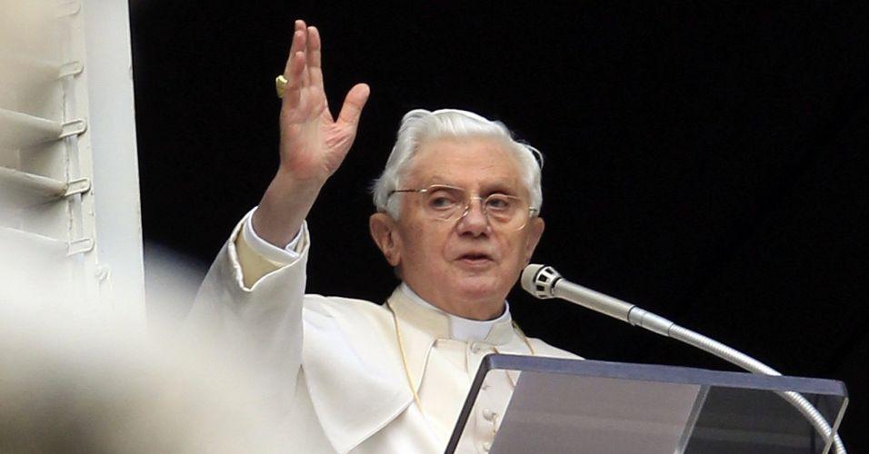 Papa faz oração
