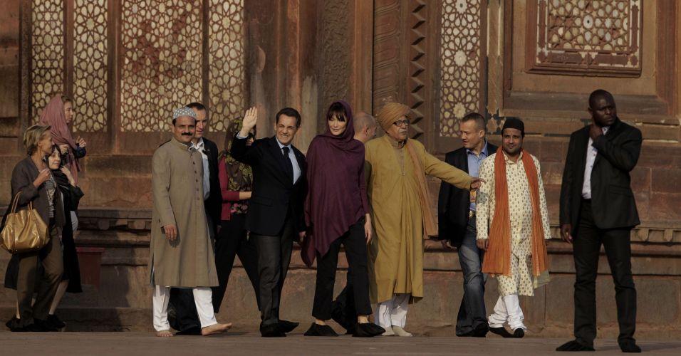Sarkozy visita a Índia