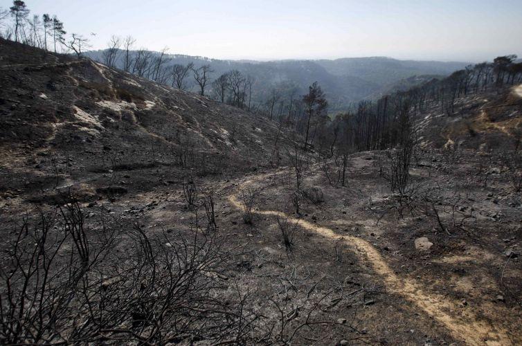 Incêndio em Israel