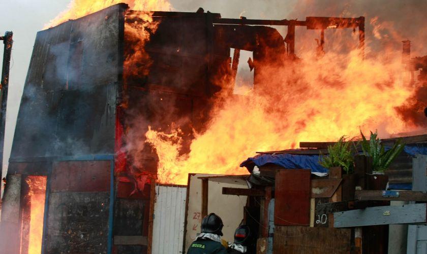 Incêndio em SP