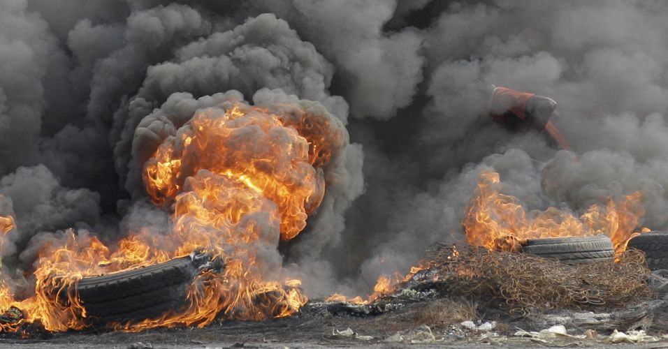 Protesto na Costa do Marfim