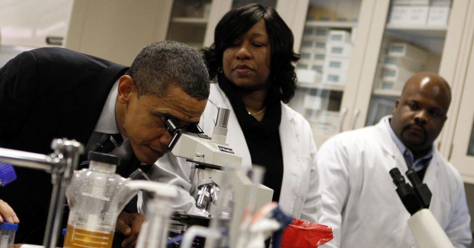 Obama em centro tecnológico