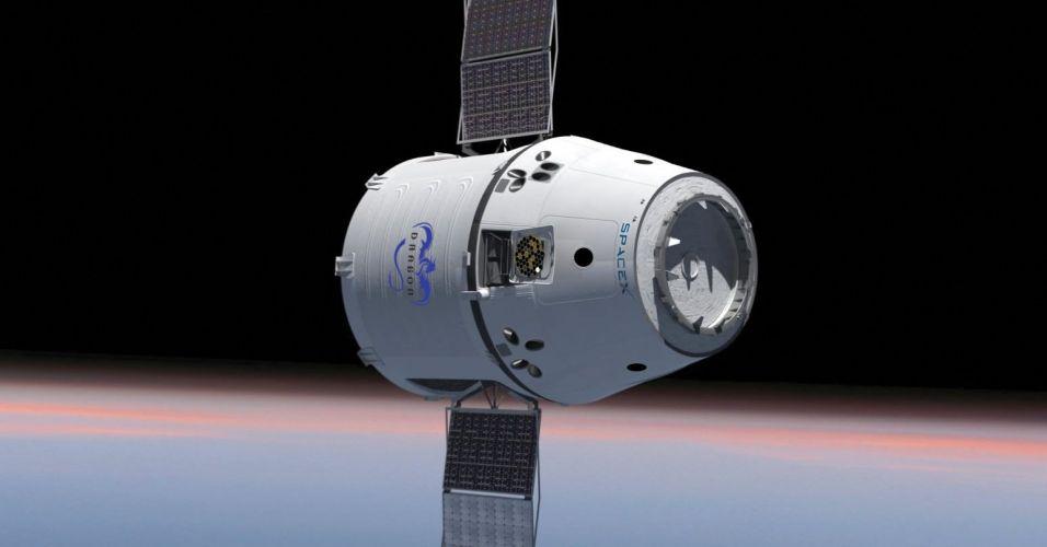 Cápsula para levar carga ao espaço